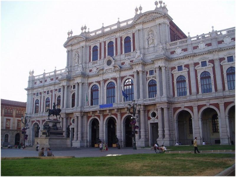 Palais Carignan, Turin, Italie