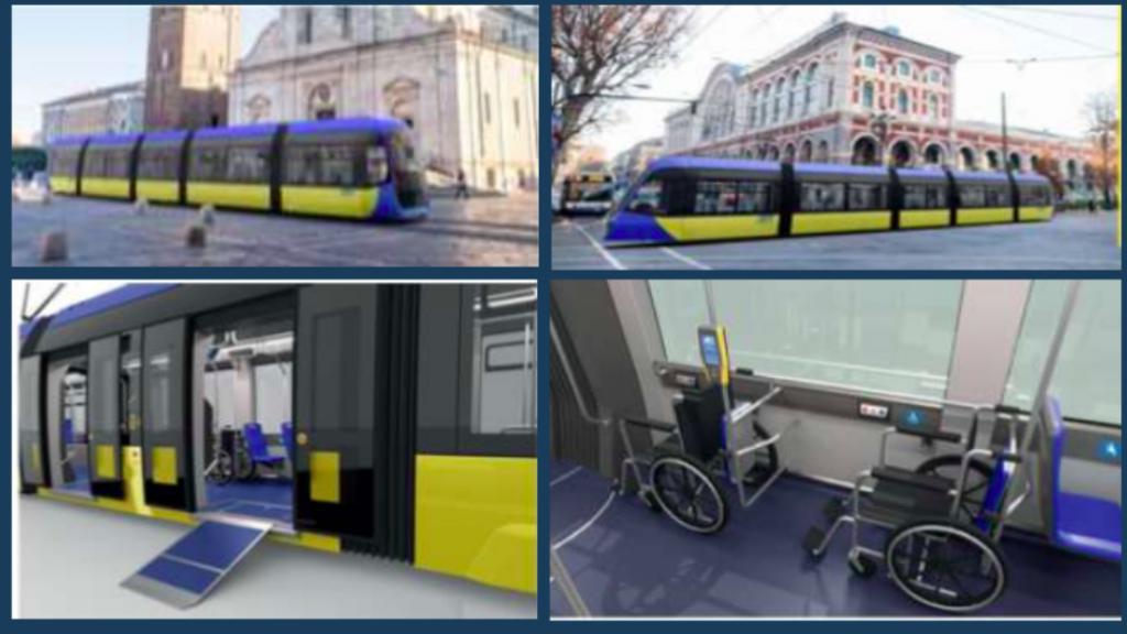 i nuovi tram Hitachi